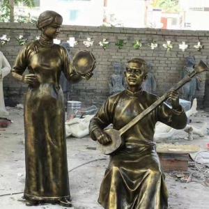 民俗玻璃钢雕塑制作